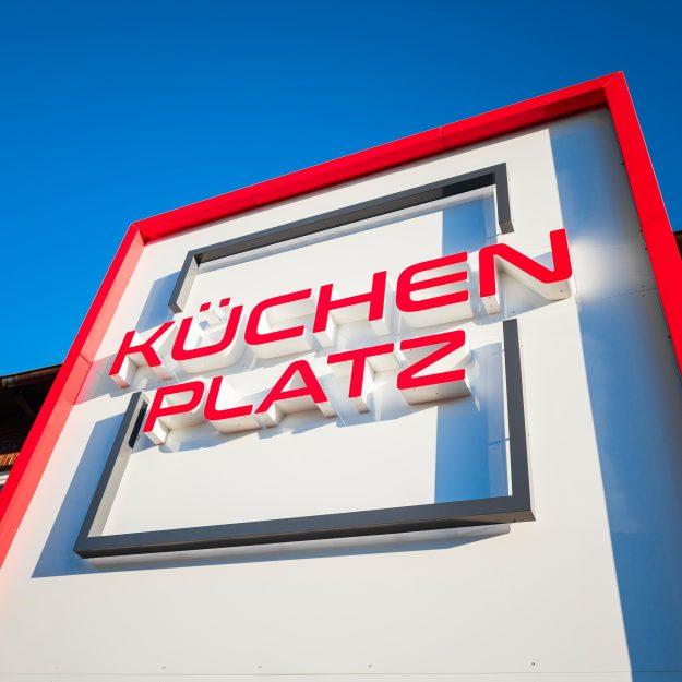 Aussenschild Kuechenplatz